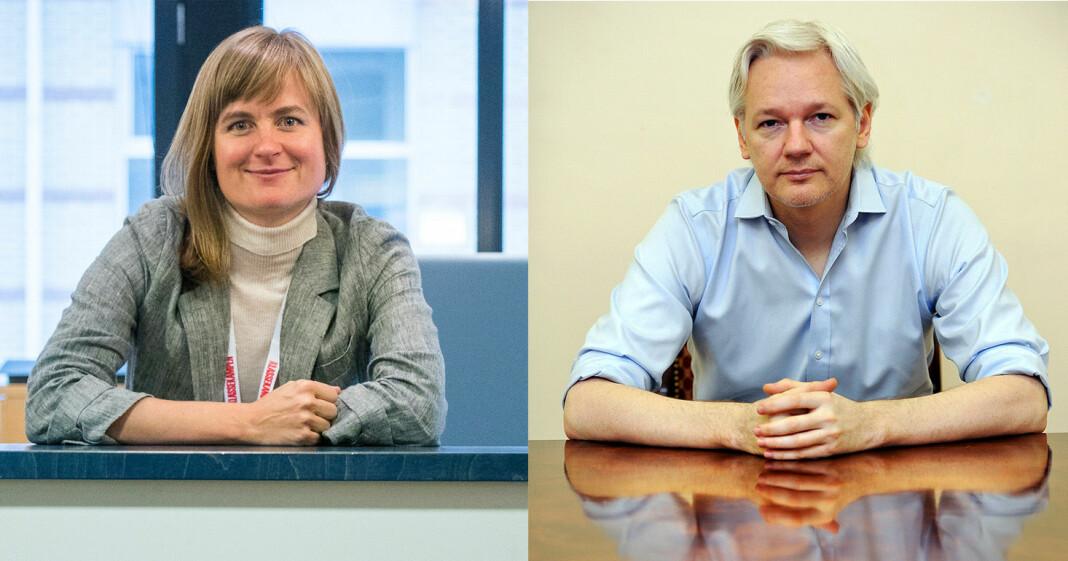 Klassekampen-redaktør Mari Skurdal er overrasket over at ikke flere medier har dekket utleveringssaken til Julian Assange tettere.