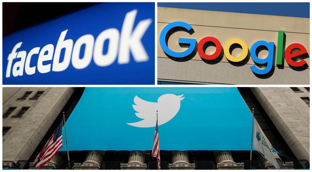 Apple, Google, Facebook, Twitter og YouTube forbereder seg på det verste før valgkvelden.