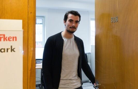 Oscar Henrik Biti Næss har startet som journalist og frontsjef i iFinnmark