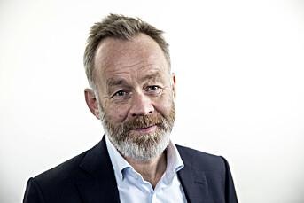 Amund Djuve, ansvarlig redaktør og administrerende direktør i Dagens Næringsliv.