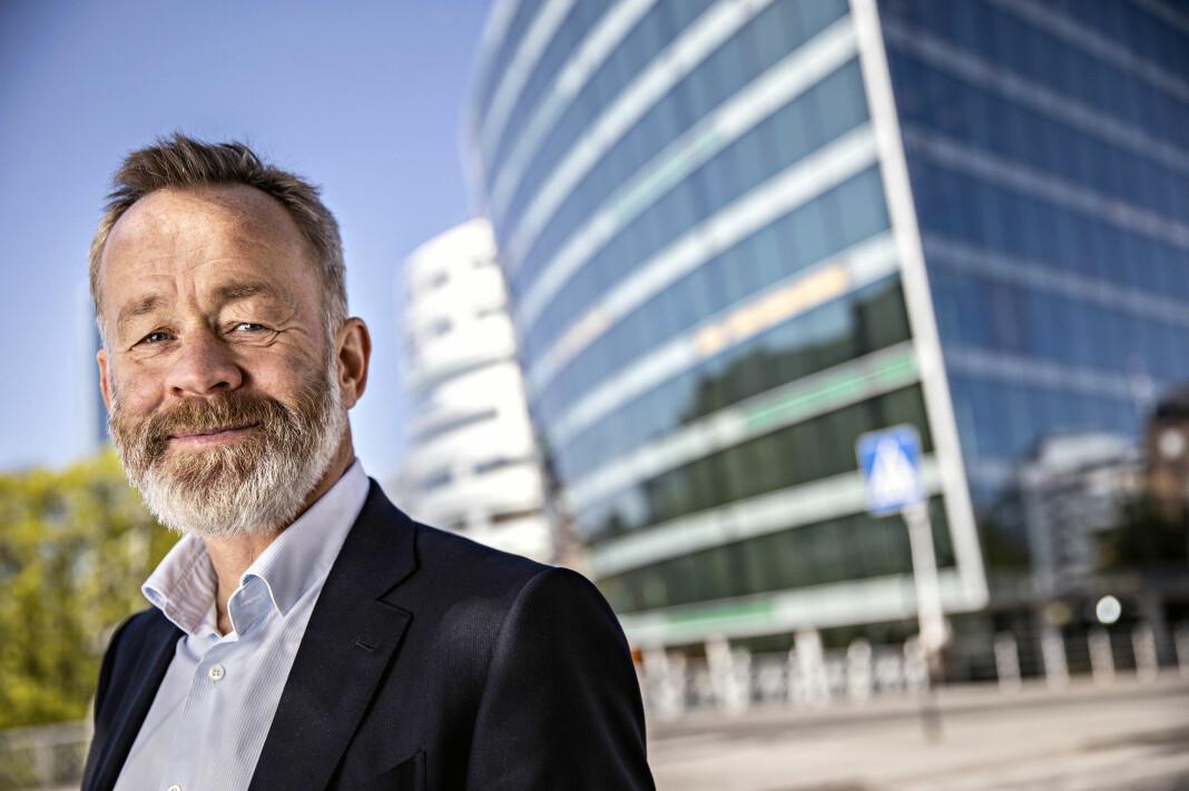 Amund Djuve går inn i sitt siste år som sjefredaktør og administrerende direktør i Dagens Næringsliv.