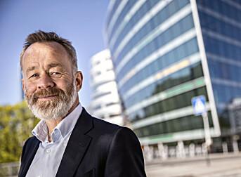 Amund Djuve, sjefredaktør og administrerende direktør i Dagens Næringsliv.