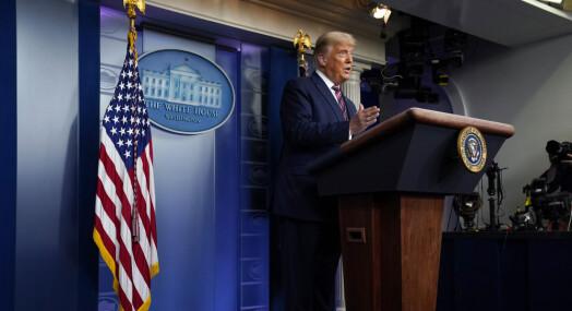 Tre TV-kanaler avbrøt Trumps kontroversielle tale
