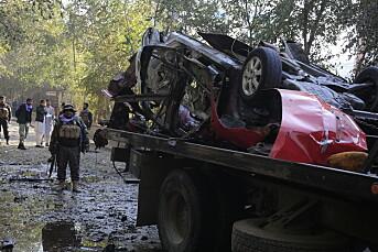Fremstående afghansk journalist drept i eksplosjon i Kabul