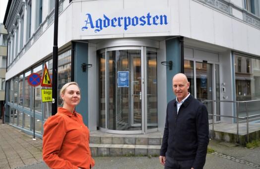 Katrine Lia er ansatt som sjefredaktør i Agderposten