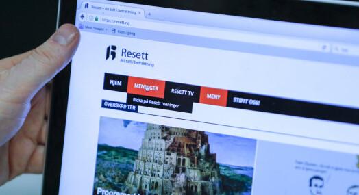 Aftenposten skriver mest om rasisme, men Resett skaper mest engasjement