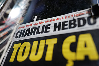 Charlie Hebdo viser Meghan som George Floyd