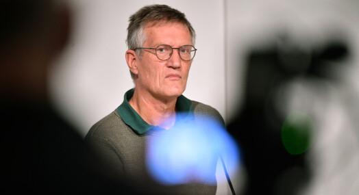 Svenske journalister hyller Anders Tegnell i ny undersøkelse