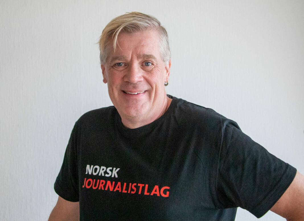 Frilansjournalist Alf Bergin har vært medlem av NJ i 40 år, og er svært kritisk til at fagforeninga skal bytte navn.