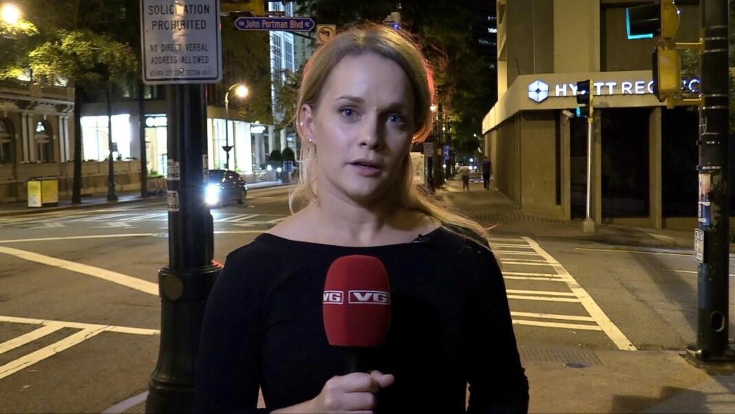 Kristina Kinne var sammen med Natalie Ramøe Hansen et av VGs team som dekket presidentvalget i USA.