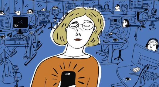 Over flere år mottok DN-ansatte trakasserende SMS-er fra noen med kjennskap til innsiden av redaksjonen. Ingen har klart å finne ut hvem
