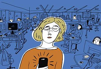Ingen vet hvem som har sendt DN-ansatte trakasserende SMS-er i flere år