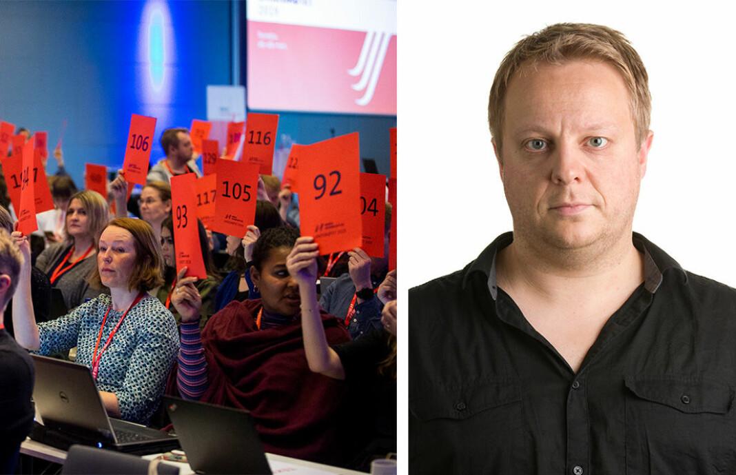 NRK Super-klubbleder Stian Presthus skriver at han og hans kollegaer er ansatt som «journalister» og tar redaksjonelle valg, selv om de kanskje ikke ser på seg selv om journalister.