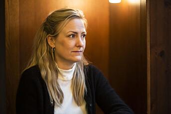 Marte Christensen mottok to anonyme, trakasserende SMS-er mens hun jobba i DN.