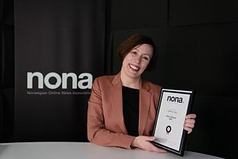 DN-redaktør Ingeborg Volan er Årets netthode