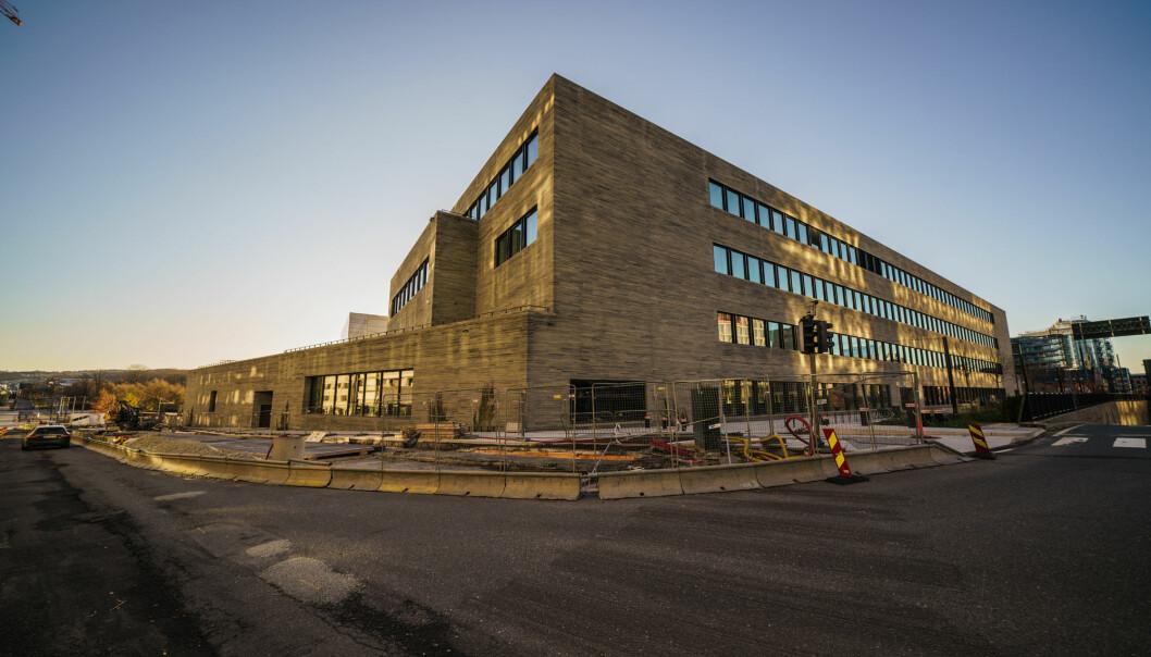 Det nye Nasjonalmuseet, som bygges på Vestbanen i Oslo, vil ikke åpne før 2022. Onsdag ba de Munchmuseet om å trekke seg fra en NRK-debatt.