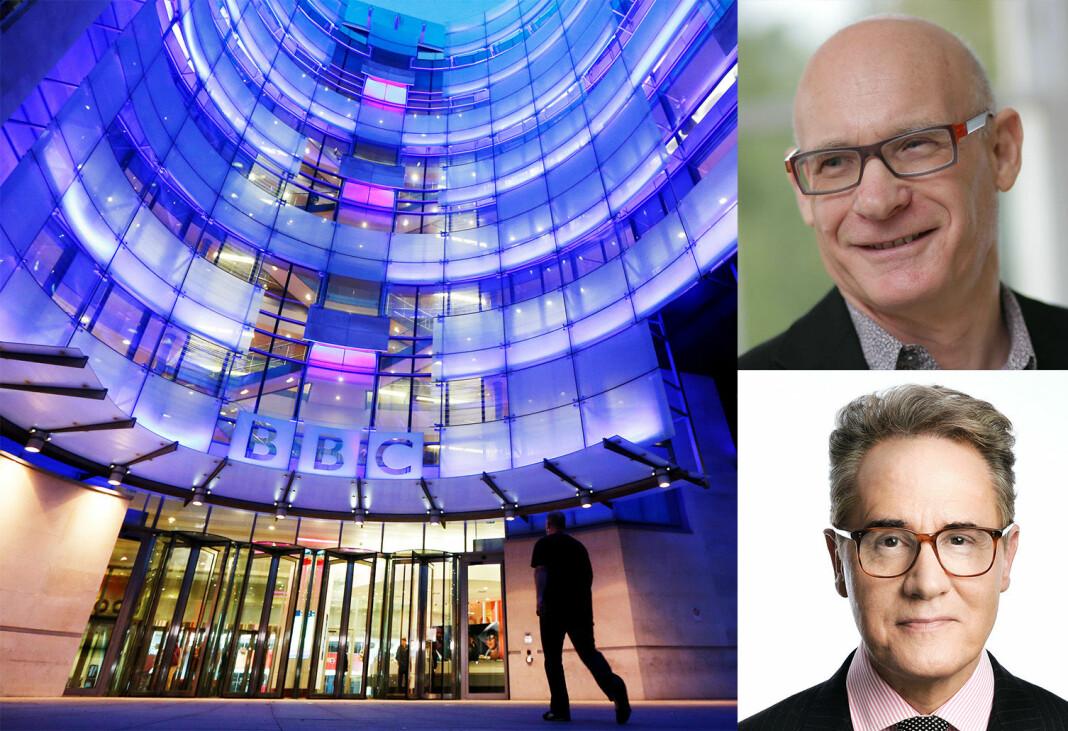 Duoen Patrick Barwise og Peter York står bak boka «The War Against the BBC». De frykter for BBCs fremtid.