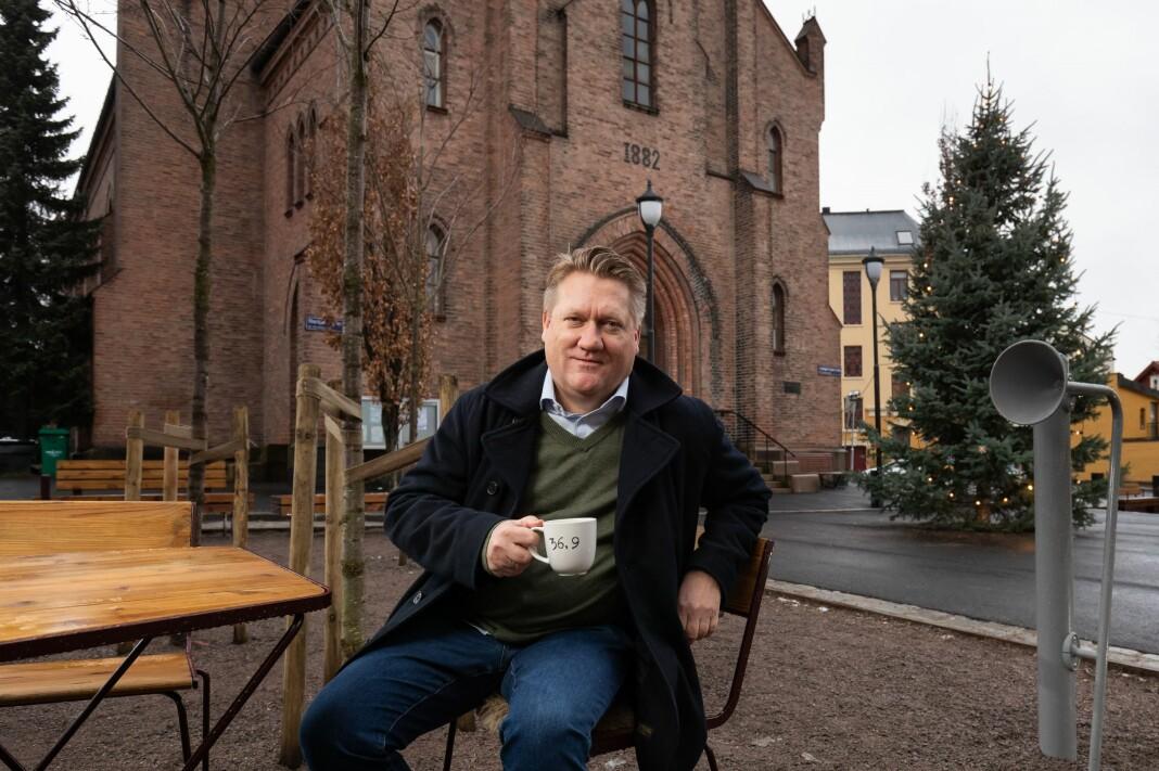– Avisa Oslo er det mest spennende journalistiske prosjektet i Norge akkurat nå, sier Eirik Mosveen - som har fått ny jobb i Avisa Oslo.