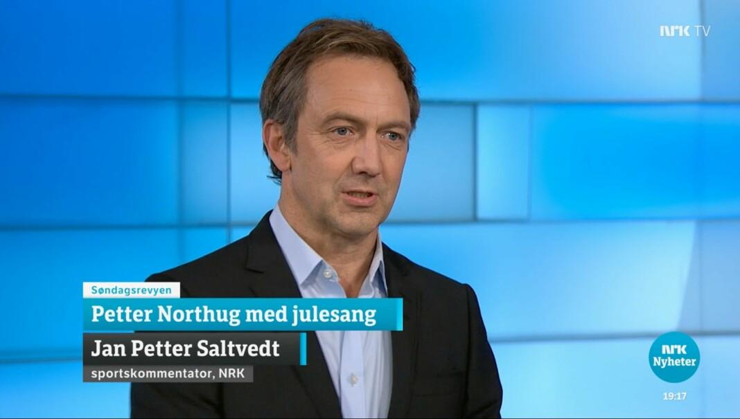 – At saka var journalistisk behandla, også med ein kritisk og nyansert kommentar frå vår sportskommentator Jan Petter Saltvedt, ser Omdal heilt bort frå, skriv NRK-redaktør Knut Magnus Berge.