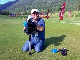 Jørn Tveter, fotograf i NRK.
