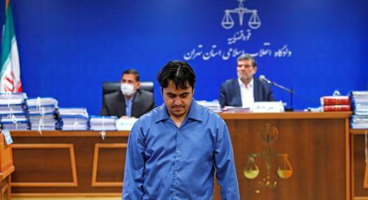 Iransk journalist henrettet
