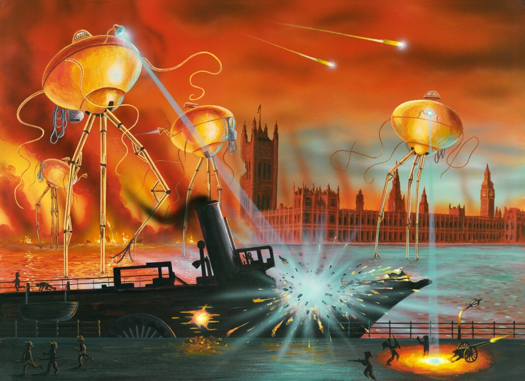Sjølv om panikken etter høyrespelet The War of The Worlds ikkje var rein fiksjon, vart den sterkt overdrive av dåtidas media.