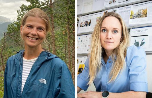Rønnaug Jarlsbo og Marte Bjerke er ansatt i Fagbladet