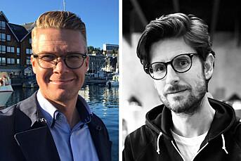 Mats Rønning og Kristian Skårdalsmo er ansatt som politiske reportere i NRK