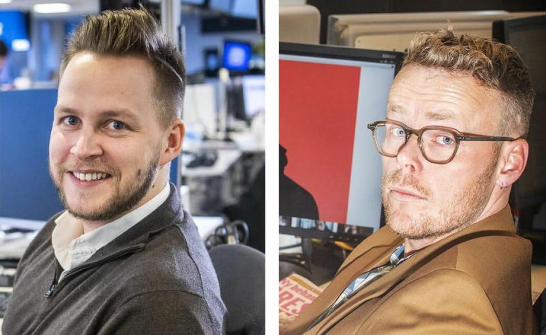 Nicolai Eriksen blir leder for den nye avdelingen, mens Steinar Suvatne blir fagansvarlig for politikk.