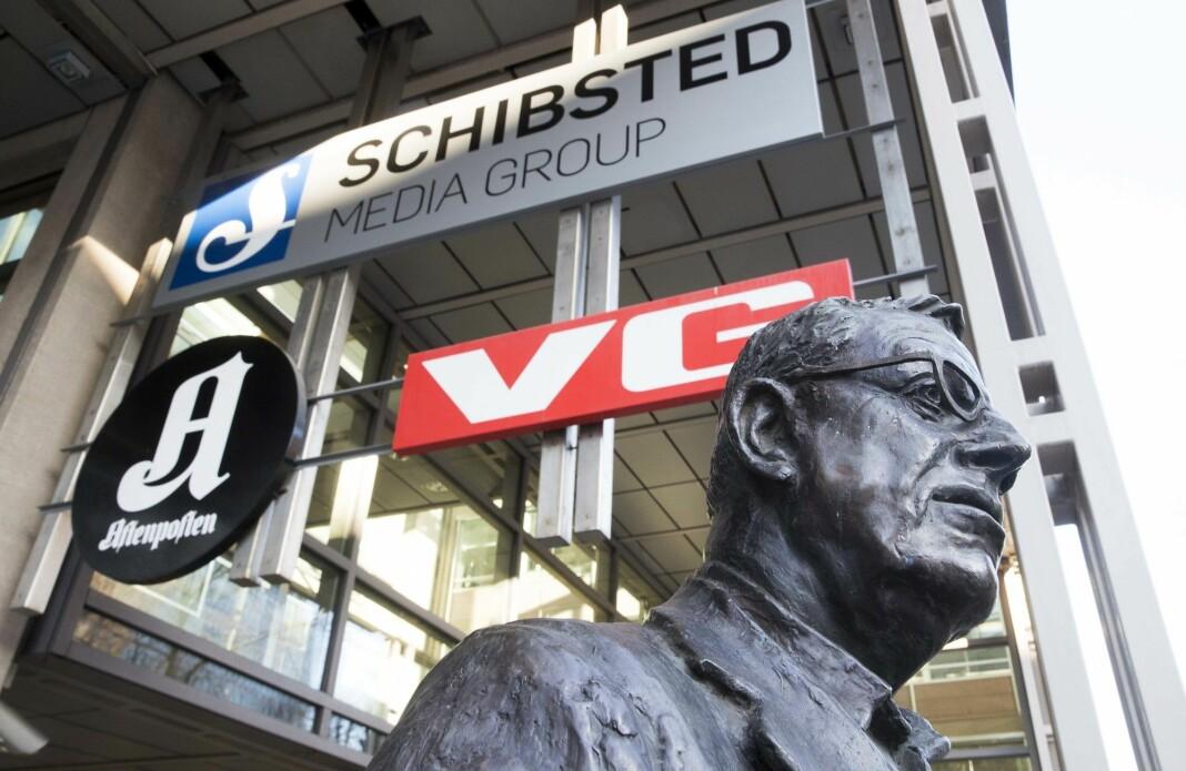 Schibsted, Amedia og Polaris kontrollerte i fjor 70,7 prosent av det totale avisopplaget.