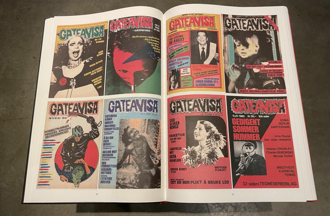 Den visuelle profilen til Gateavisa har alltid vært «annerledes».