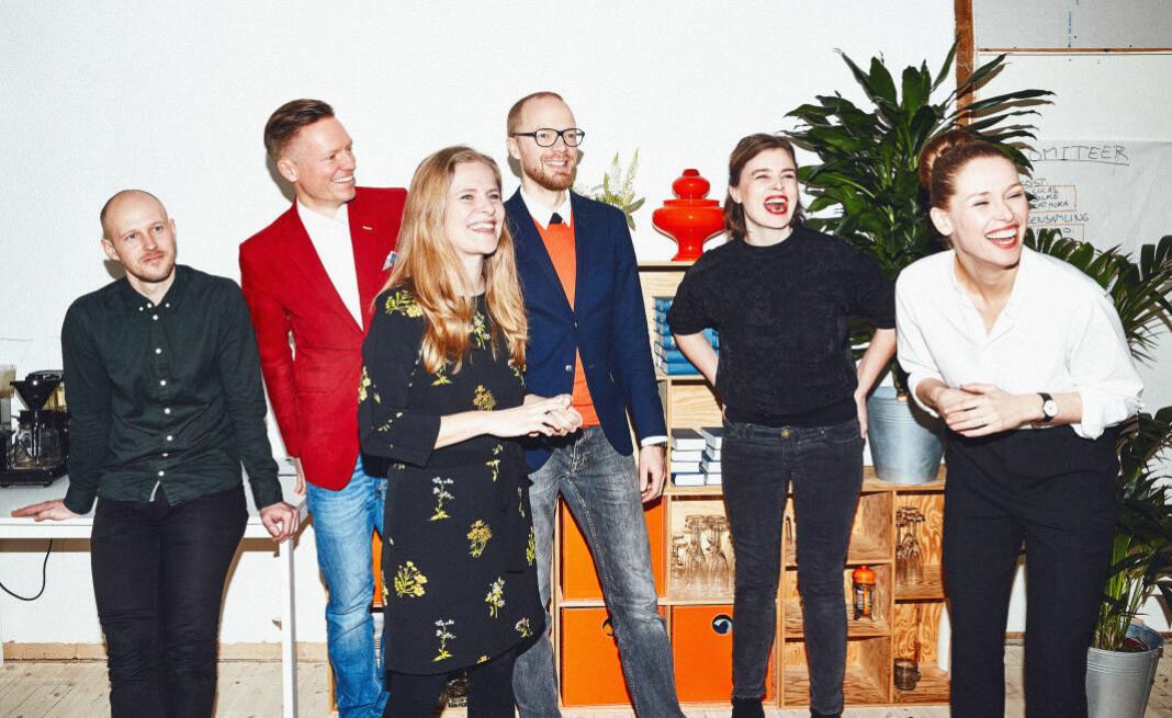 Danske Zetland opplever stadig vekst. Sjefredaktør Lea Korsgaard til høyre.