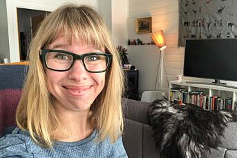 Anniken Renslo Sandvik går fra Finnmarken til Nidaros