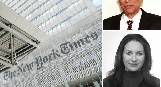 New York Times innrømmer at prisvinnende podkast ikke holder «redaksjonell standard»