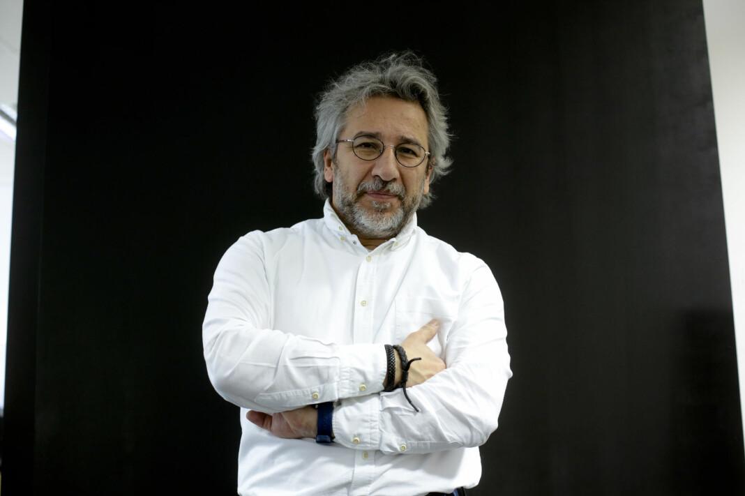 Can Dündar var tidligere sjefredaktøren for den tyrkiske avisen Cumhuriyet.