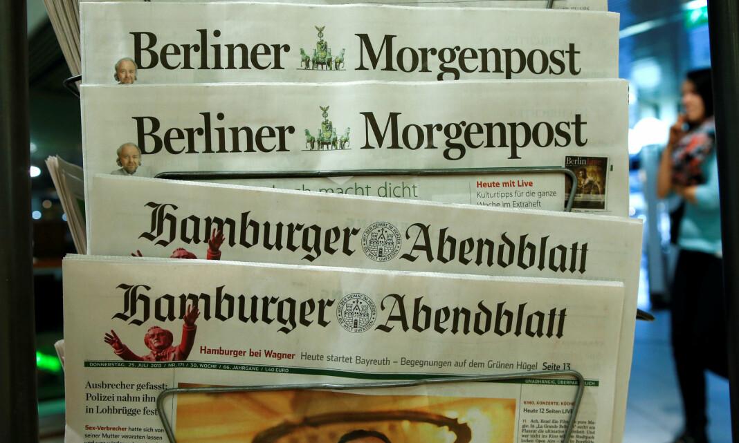 Cyberangrep rammer tysk mediekonsern