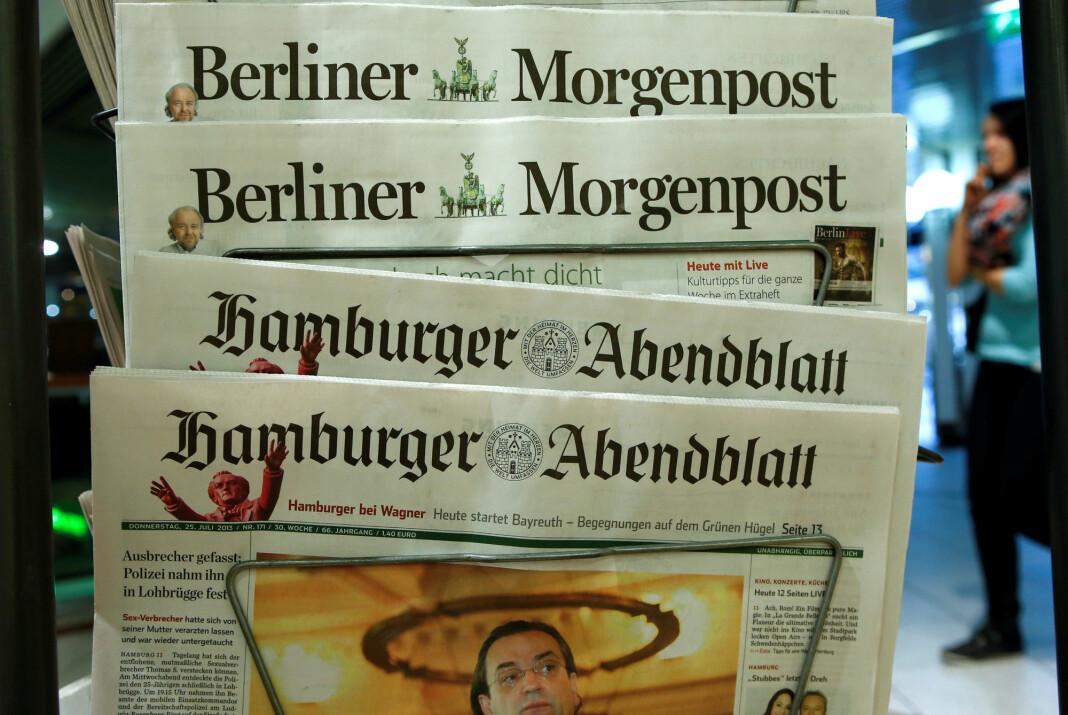 Dataangrepet startet tirsdag og forstyrrer IT-systemene til flere redaksjoner, samt trykkingen av aviser. Blant de rammede avisene er Berliner Morgenpost.