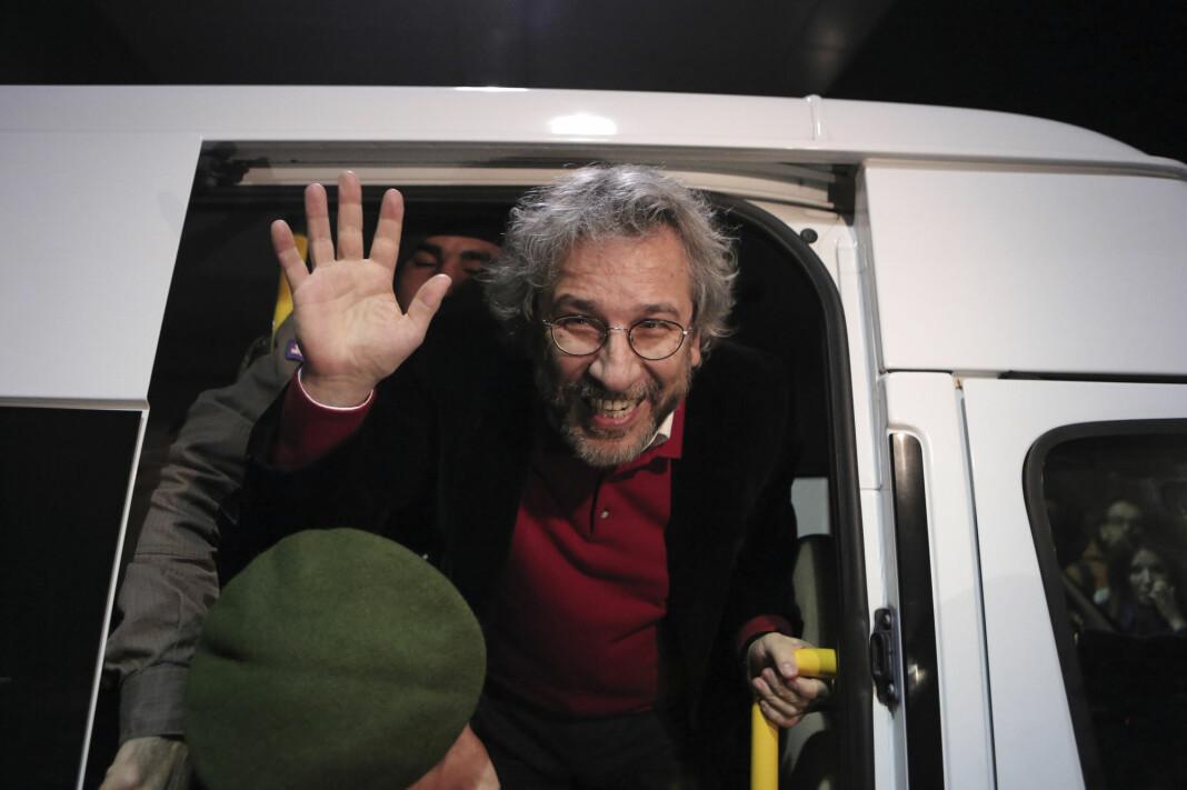 Den tidligere sjefredaktøren i den tyrkiske avisen Cumhuriyet, Can Dündar, flyktet til Tyskland i 2016. En tyrkisk domstol dømte ham lille julaften til 27 års fengsel og krever ham utlevert.