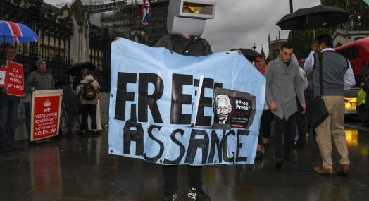Julian Assanges far håper Biden vil benåde sønnen