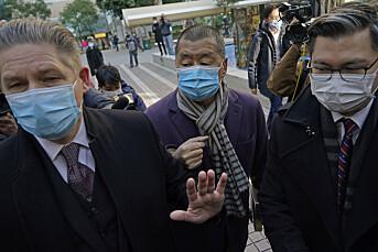Regimekritikeren Jimmy Lai tilbake i varetekt i Hongkong