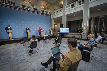Annenhver nordmann mener mediene krisemaksimerer pandemidekningen