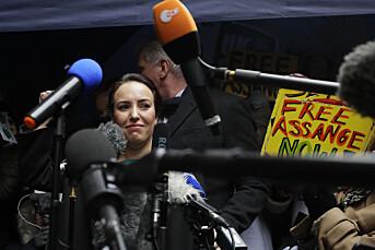 Assanges forlovede gleder seg over utleverings-nei