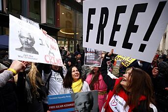 USA er «ekstremt skuffet» over britisk Assange-avgjørelse