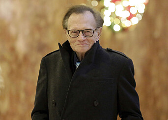 Koronasyk Larry King ute fra intensiven