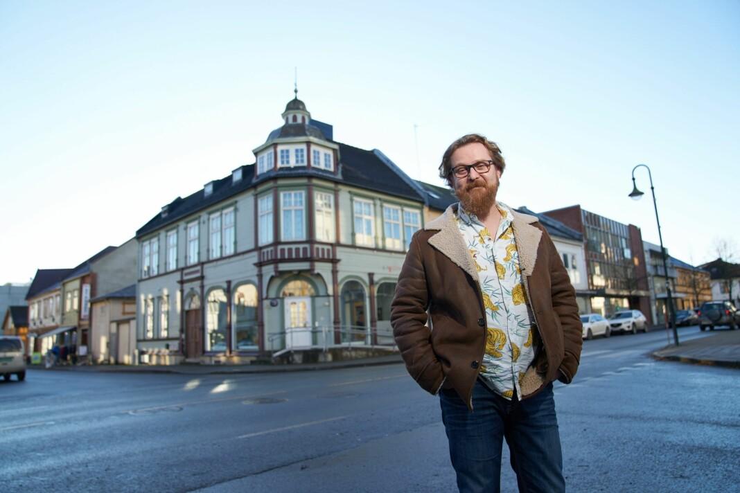 – At 1500 levangsbygg har tegnet abonnement allerede viser at det var et reelt behov for den nære og lokale journalistikken i Levanger igjen, sier redaktør Gaute Ulvik Haugan.