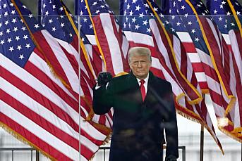 Trump fratatt sosiale medier