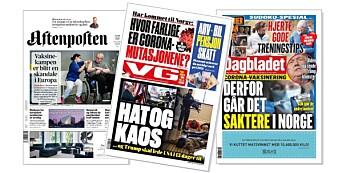 – Store nyhetssaker skal trumfe alt i alle ledd i VG. Det er viktig å gi et godt tilbud til papirleserne
