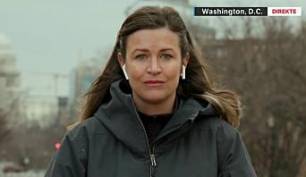 Veronica Westhrin rapporterte fra DC: – Var veldig redd for hvordan situasjonen skulle utvikle seg