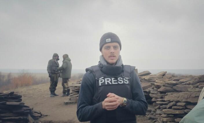 Kyrre Lien rapporterer fra frontlinjen i Øst-Ukraina.