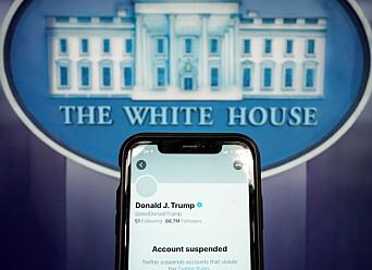 Trumps tid på Twitter er forbi. Vurderer å lage egen plattform